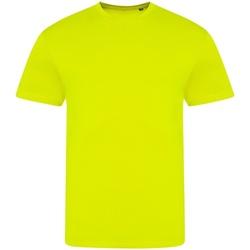 Vêtements T-shirts manches courtes Awdis JT004 Jaune fluo