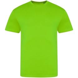 Vêtements Homme T-shirts manches courtes Awdis JT004 Vert fluo