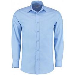 Vêtements Homme Chemises manches longues Kustom Kit K142 Bleu clair