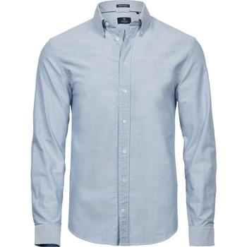 Vêtements Homme Chemises manches courtes Tee Jays TJ4000 Bleu clair