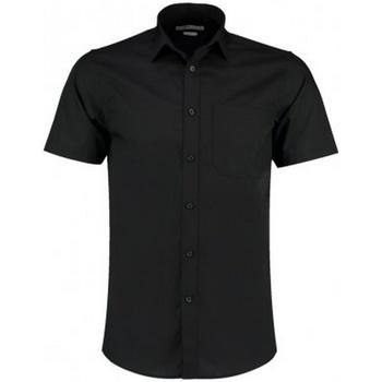 Vêtements Homme Chemises manches courtes Kustom Kit KK141 Noir