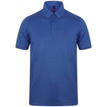 Vêtements Homme Polos manches courtes Henbury HB460 Bleu roi