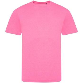 Vêtements T-shirts manches courtes Awdis JT004 Rose fluo