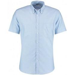 Vêtements Homme Chemises manches courtes Kustom Kit KK183 Bleu clair