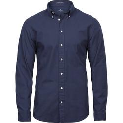 Vêtements Homme Chemises manches longues Tee Jays TJ4000 Bleu marine