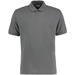 Vêtements Homme Polos manches courtes Kustom Kit KK422 Gris