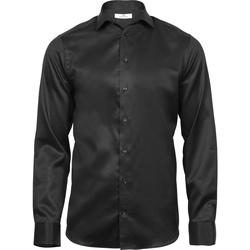Vêtements Homme Chemises manches longues Tee Jays T4021 Noir