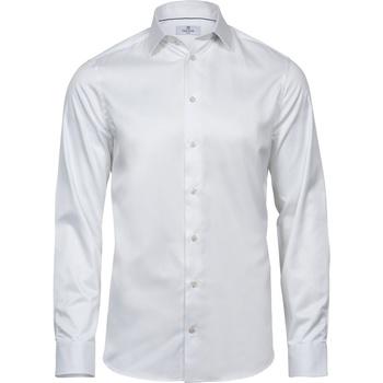 Vêtements Homme Chemises manches longues Tee Jays T4021 Blanc