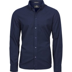 Vêtements Homme Chemises manches longues Tee Jays TJ4010 Bleu marine