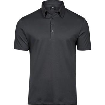 Vêtements Homme Polos manches courtes Tee Jays T1440 Gris foncé
