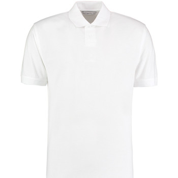 Vêtements Homme Polos manches courtes Kustom Kit KK422 Blanc