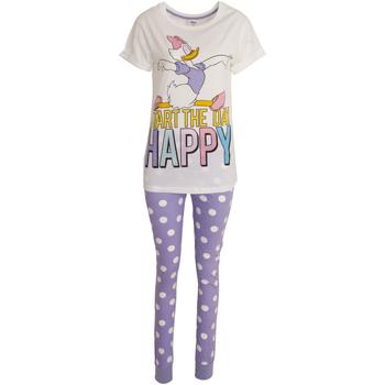 Vêtements Femme Pyjamas / Chemises de nuit Disney  Blanc/violet