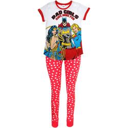 Vêtements Femme Pyjamas / Chemises de nuit Dc Comics  Blanc