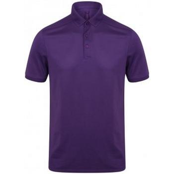 Vêtements Homme Polos manches courtes Henbury HB460 Violet