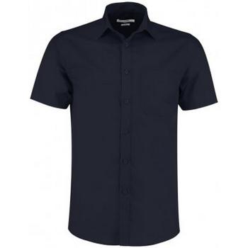 Vêtements Homme Chemises manches courtes Kustom Kit KK141 Bleu marine
