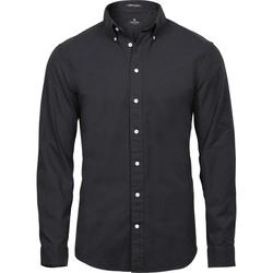 Vêtements Homme Chemises manches longues Tee Jays TJ4000 Noir