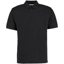 Vêtements Homme Polos manches courtes Kustom Kit KK422 Noir