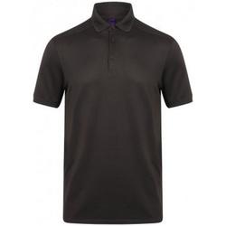 Vêtements Homme Polos manches courtes Henbury HB460 Gris foncé