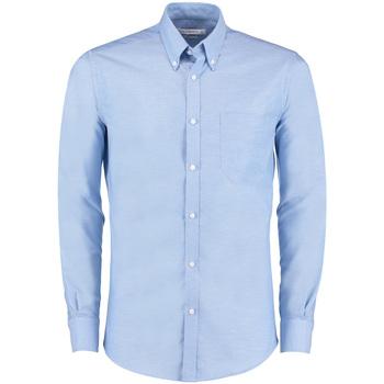 Vêtements Homme Chemises manches longues Kustom Kit KK182 Bleu clair