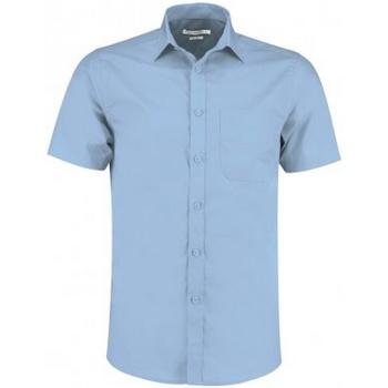Vêtements Homme Chemises manches courtes Kustom Kit KK141 Bleu clair
