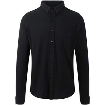 Vêtements Homme Chemises manches longues Awdis SD042 Noir