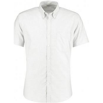 Vêtements Homme Chemises manches courtes Kustom Kit KK183 Blanc