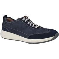 Chaussures Homme Baskets basses Clarks 133328 Bleu
