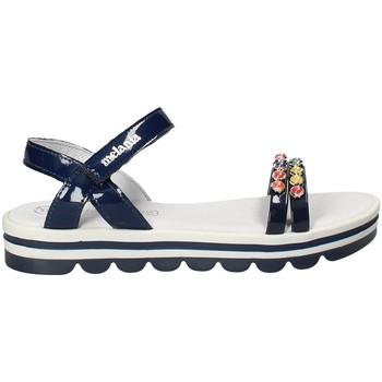 Chaussures Fille Sandales et Nu-pieds Melania ME6162F8E.A Bleu