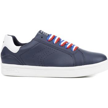 Chaussures Garçon Baskets basses Geox J825VC 043BC Bleu