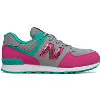 Chaussures Fille Baskets basses New Balance NBGC574KWT Gris