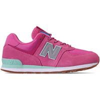 Chaussures Fille Baskets basses New Balance NBGC574PAF Rose