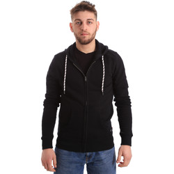 Vêtements Homme Sweats Key Up 2F01I 0001 Noir