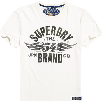 Vêtements Homme T-shirts manches courtes Superdry M10003TR Blanc