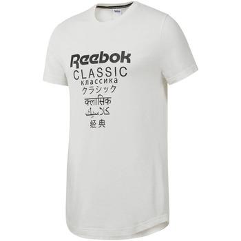 Vêtements Homme T-shirts manches courtes Reebok Sport DJ1893 Blanc