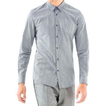 Vêtements Homme Chemises manches longues Antony Morato MMSL00501 FA430345 Bleu