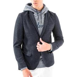 Vêtements Homme Vestes / Blazers Antony Morato MMJA00368 FA100171 Bleu