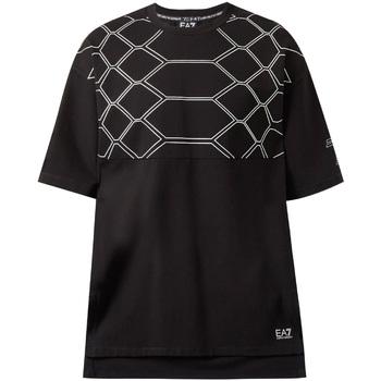 Vêtements Homme T-shirts manches courtes Ea7 Emporio Armani 6ZPT43 PJQ0Z Noir