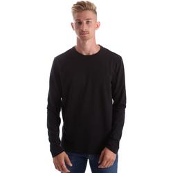 Vêtements Homme T-shirts manches longues Gas 300187 Noir