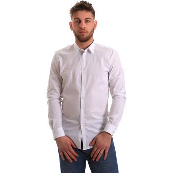 Vêtements Homme Chemises manches longues Gaudi 821BU45014 Blanc
