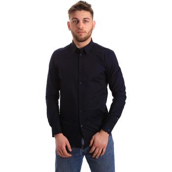 Vêtements Homme Chemises manches longues Gaudi 821BU45014 Bleu