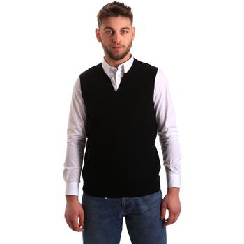 Vêtements Homme Gilets / Cardigans Gaudi 821FU53025 Noir