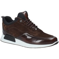 Chaussures Homme Baskets basses Exton 162 Marron