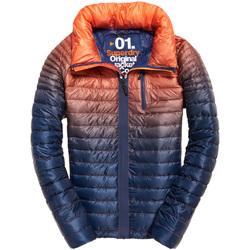 Vêtements Homme Doudounes Superdry M50005DR Bleu