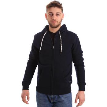 Vêtements Homme Sweats Key Up 2F01I 0001 Bleu