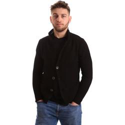 Vêtements Homme Gilets / Cardigans Bradano 165 Noir