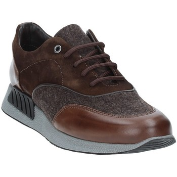 Chaussures Homme Baskets basses Exton 161 Marron