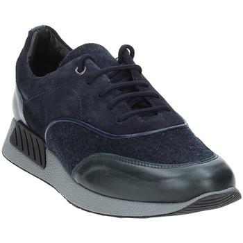 Chaussures Homme Baskets basses Exton 161 Bleu