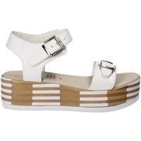 Chaussures Femme Sandales et Nu-pieds Grace Shoes 56423 Blanc