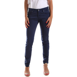 Vêtements Femme Pantalons 5 poches Gaudi 911BD25010 Bleu