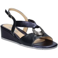 Chaussures Femme Sandales et Nu-pieds Melluso K95049 Bleu